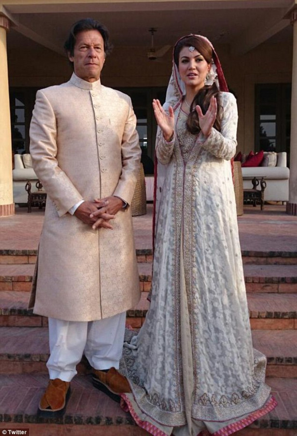 Imran Khan marries TV weathergirl Reham in Pakistan FOR ...