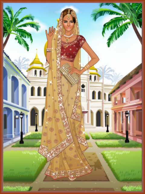 Indian Barbie Dress Up Games Wedding - Wedding Dresses
