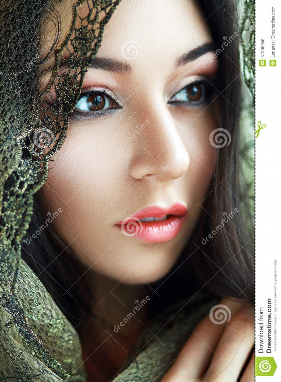 Indian Beauty Face Royalty Free Stock Photos - Image: 37348658