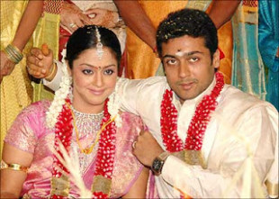 Indian Bollywood & Tollywood Couples: surya-jyothika ...