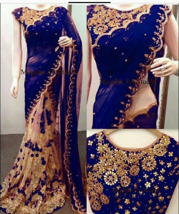 Indian Bollywood New Designer Saree Wedding Party wear ...