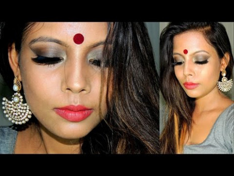 Indian Bollywood Party Makeup - YouTube