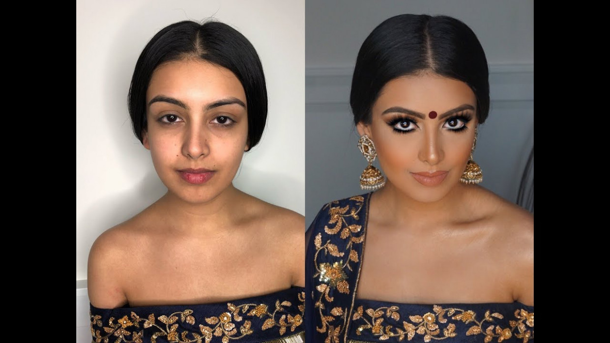 Indian | Bollywood | South Asian Bridal Makeup From Start ...