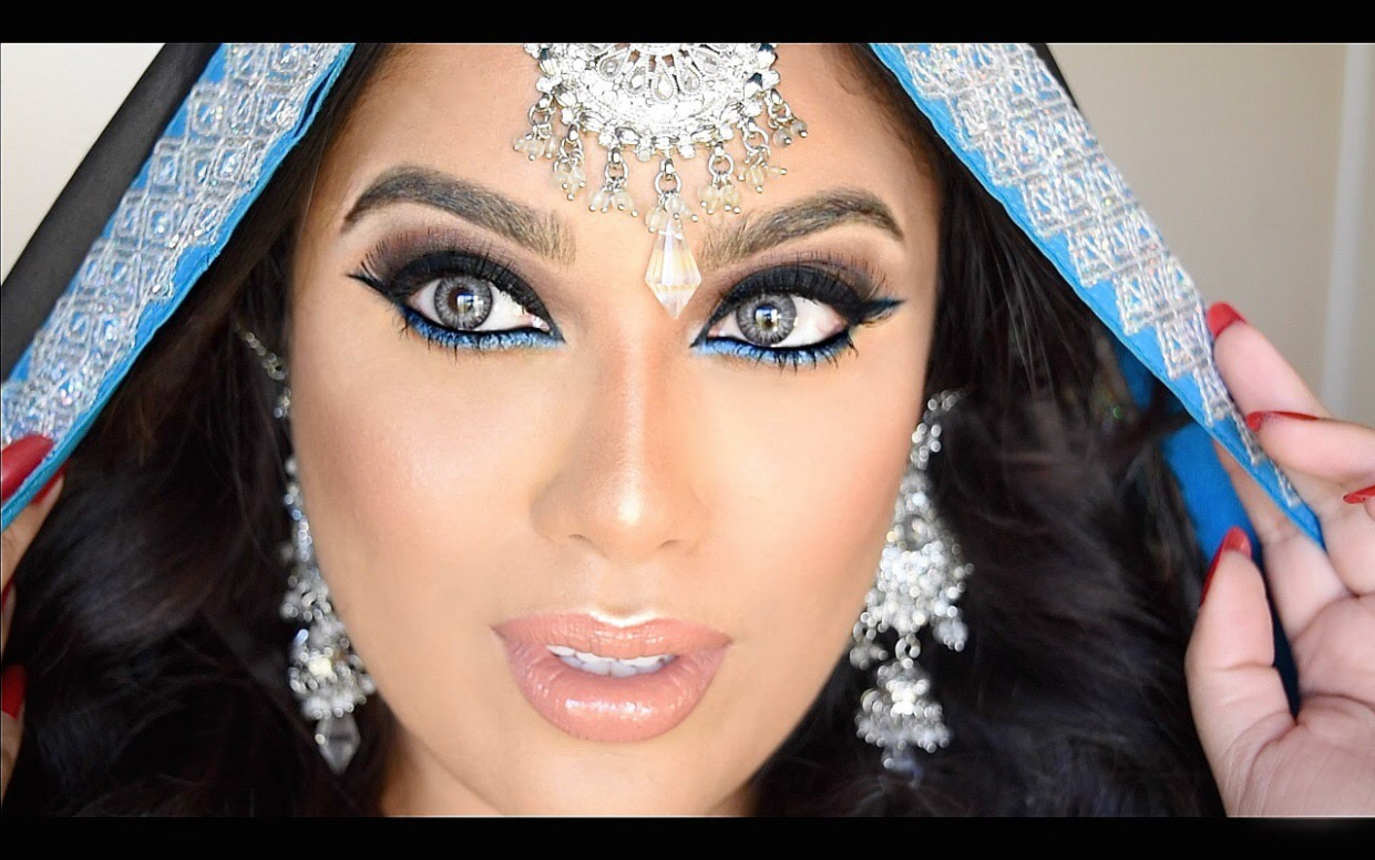 Indian/Bollywood/South Asian Bridal Makeup - Lets Learn Makeup - how to bollywood makeup