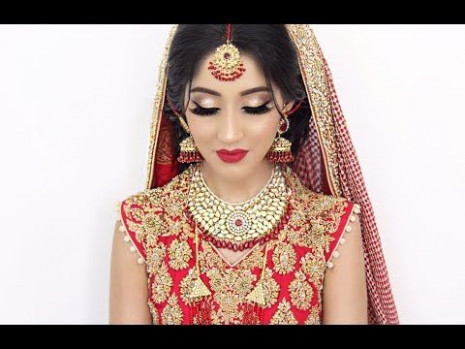 Indian Bollywood South Asian Bridal Makeup - Makeup Vidalondon