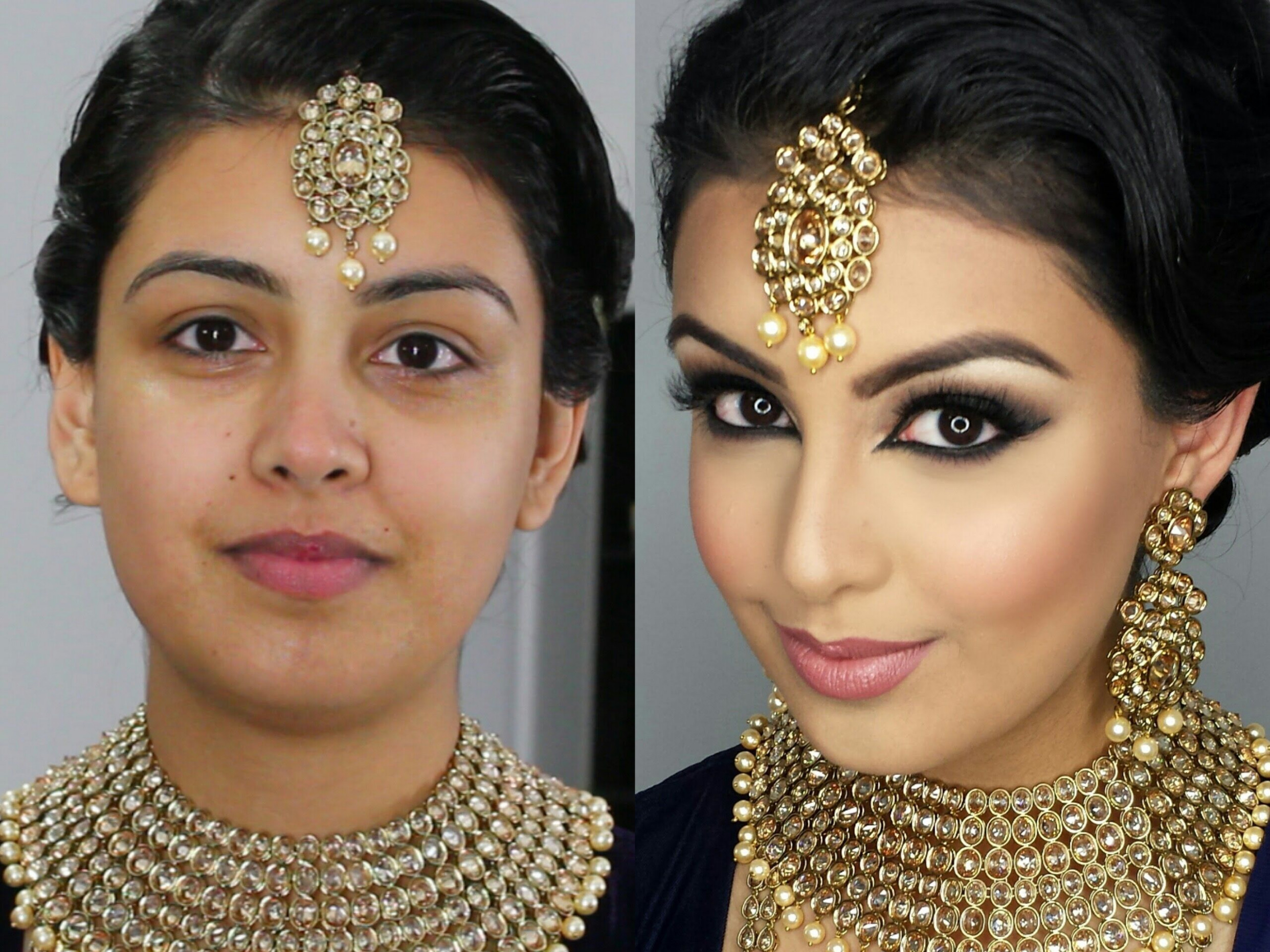 Indian/Bollywood/South Asian Bridal Makeup | Start to ..
