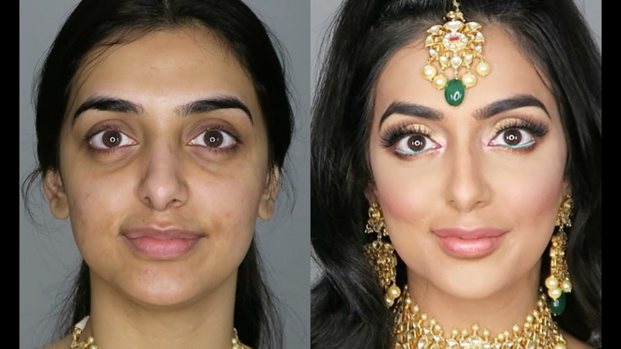 Indian/Bollywood/South Asian Bridal Makeup - Start To ...