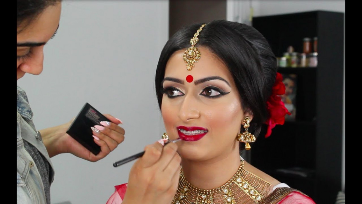 Indian/Bollywood/South Asian Bridal Makeup | Start to ...