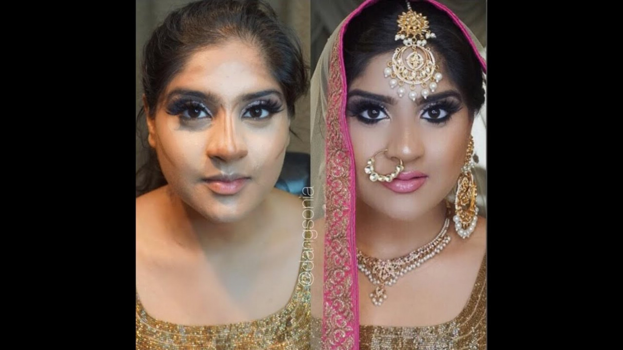 Indian | Bollywood | South Asian Bridal Makeup Tutorial ...