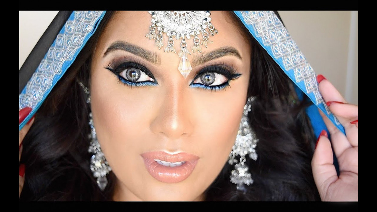 Indian/Bollywood/South Asian Bridal Makeup - YouTube
