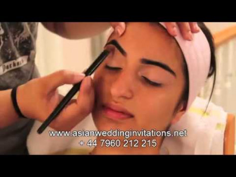 Indian / Bollywood / South Asian Bridal Makeup - YouTube