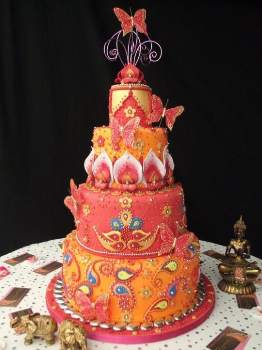 Indian Bollywood wedding cake | Yummys | Pinterest