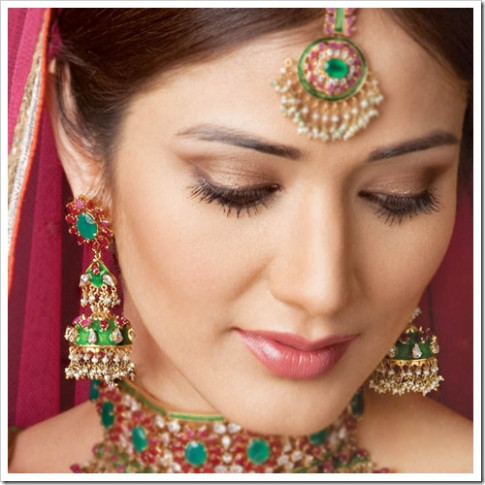 indian bridal eye makeup 2011 |Shaadi - indian bridal eye makeup