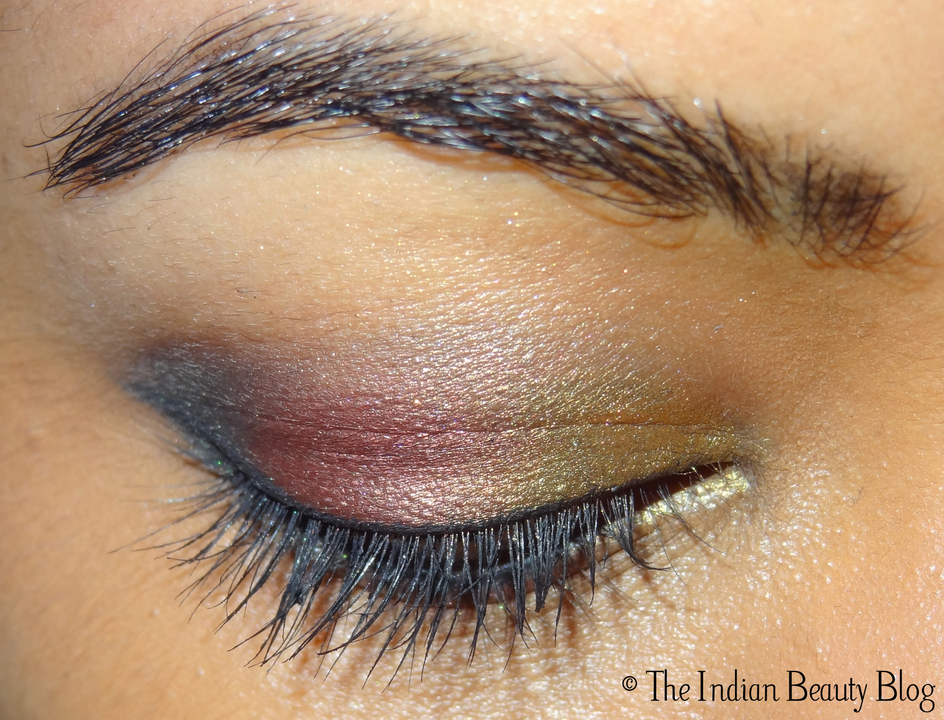 indian bridal eye makeup - The Indian Beauty Blog
