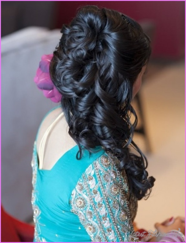 Indian Bridal Hairstyle Images - Latest Fashion Tips - indian bridal hairstyle photos