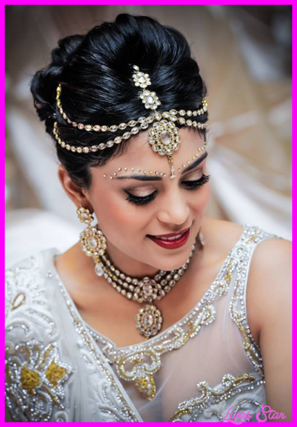Indian Bridal Hairstyle Images - LivesStar.Com