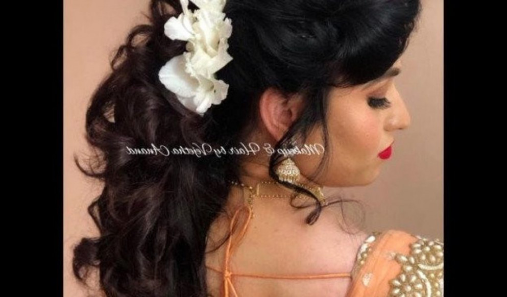 Indian Bridal Hairstyle Step by Step New Elegant Short ...