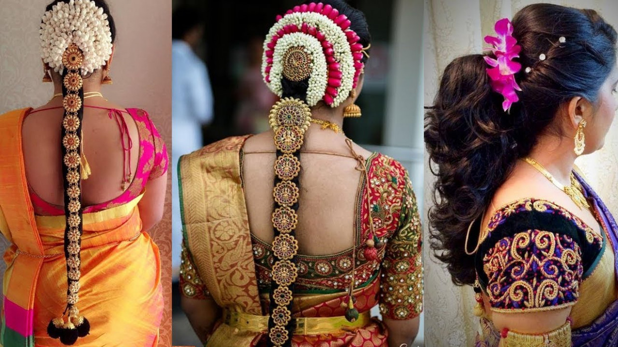 Indian Bridal Hairstyles Step by Step Perfect For Wedding ...