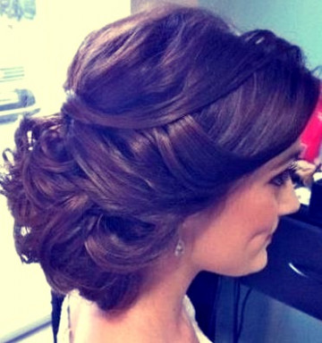 Indian bridal hairstyles updo's 17 | Indian Makeup and ...