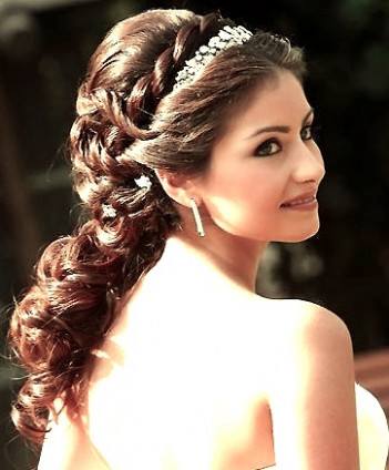 Indian bridal hairstyles updo's 25 | Indian Makeup and ...
