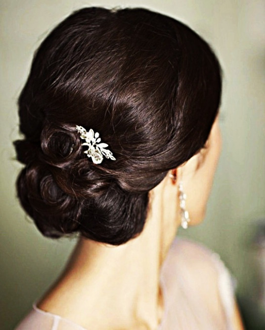 Indian bridal hairstyles updo's 28 | Indian Makeup and ...