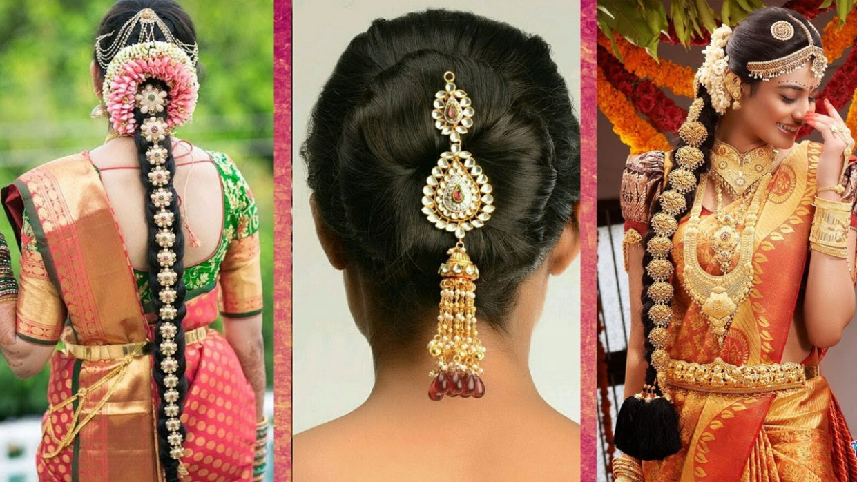 Indian Bridal Hairstyles | Wedding Hairstyles Step By Step ...