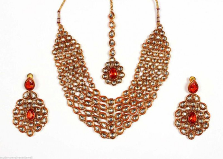 Indian Bollywood Bridal Jewellery Set