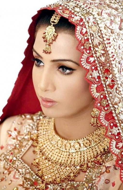 indian bridal jewelry and makeup | Индианки | Pinterest ..