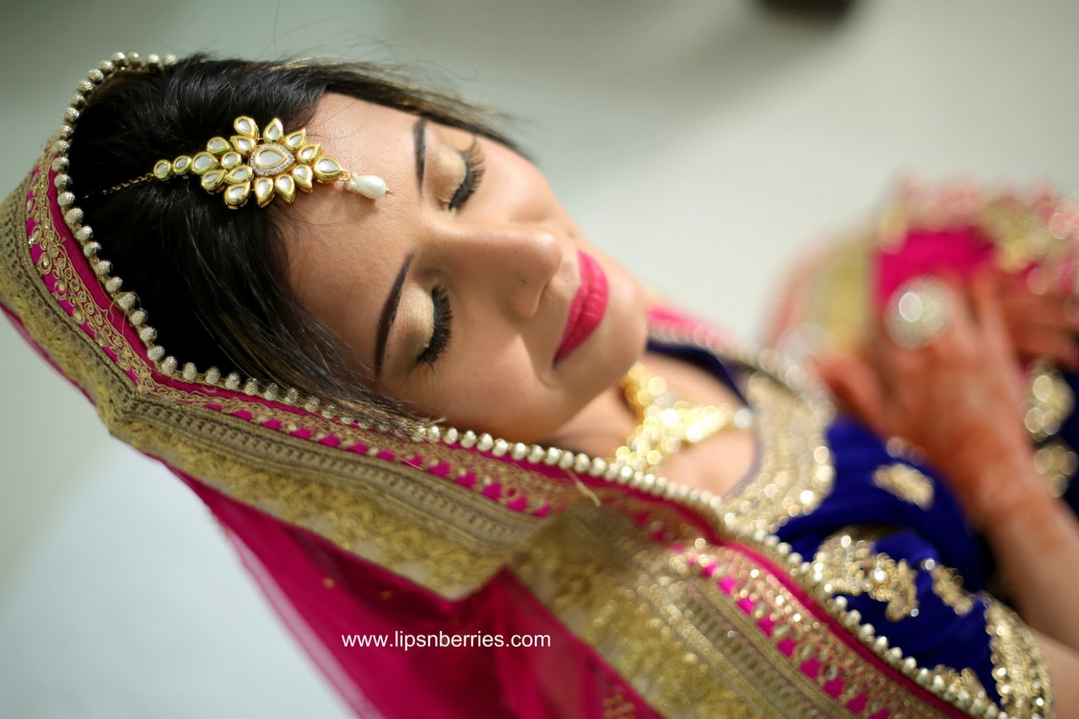 Indian Bridal Makeup- My first ever! | LIPS n BERRIES!