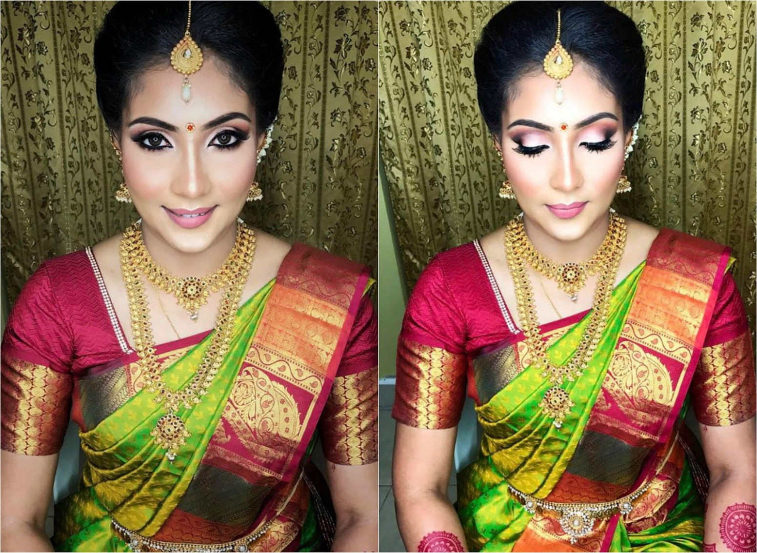 Indian Bridal Makeup Package In Kl | Saubhaya Makeup
