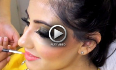 Indian Bridal Makeup Tutorial with Pictures and Steps