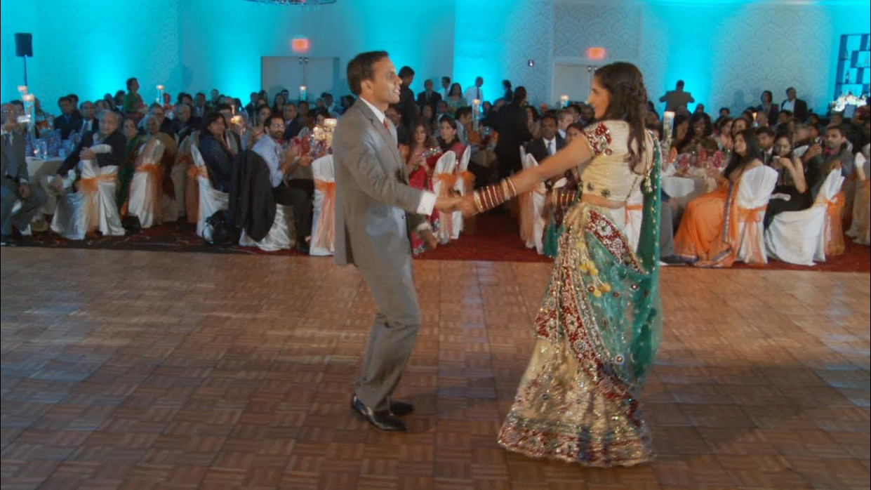 Indian Bride & Groom Entrance and First Dance Video ...
