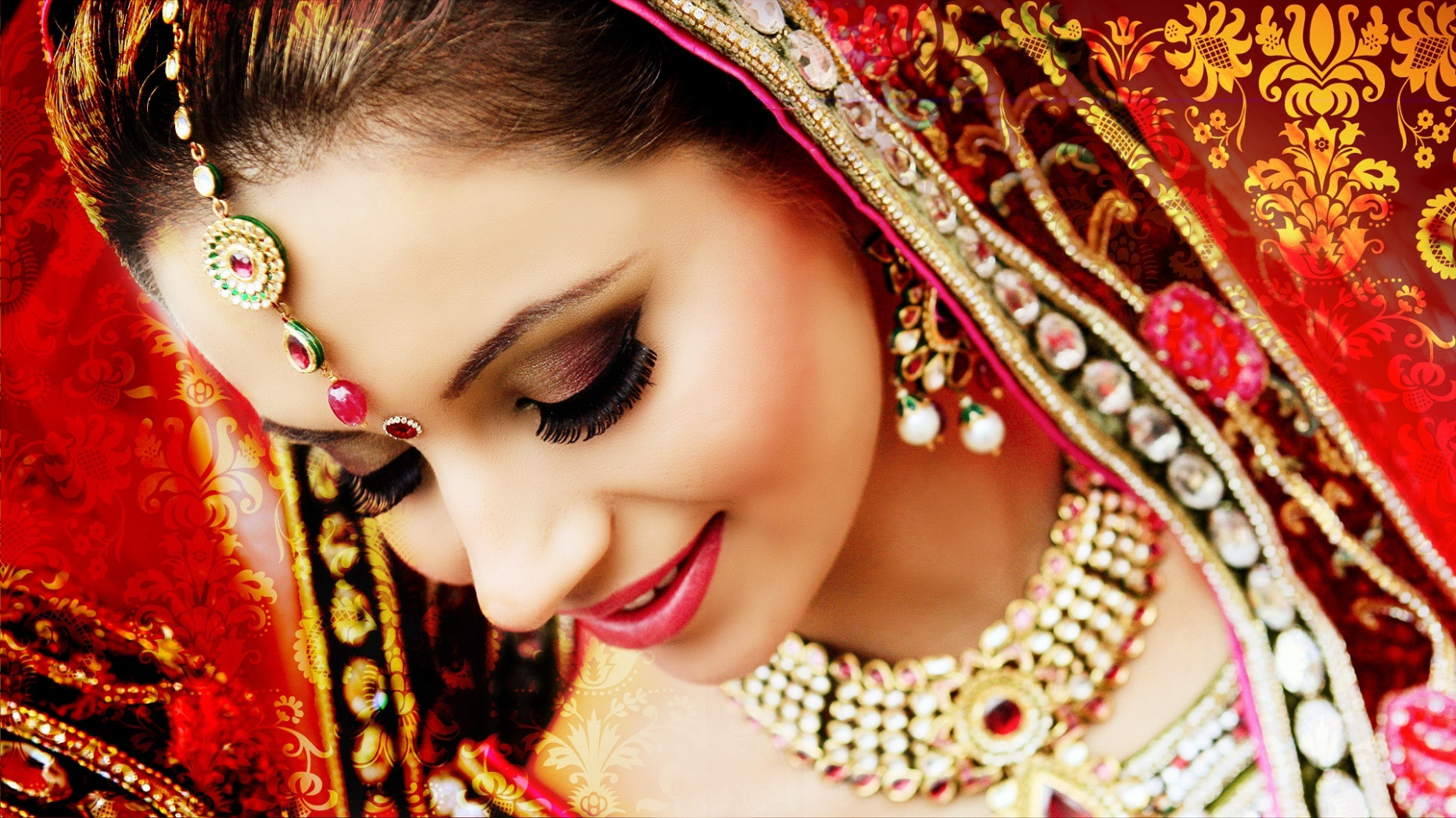 Indian bride beautiful face wallpapers - Download Hd ...