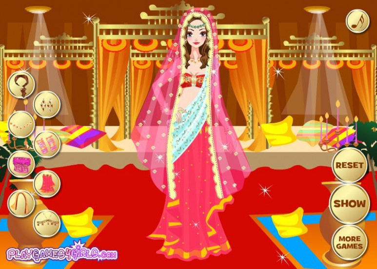 Indian Bride Dress Up Games Online Free Play - Junoir ...