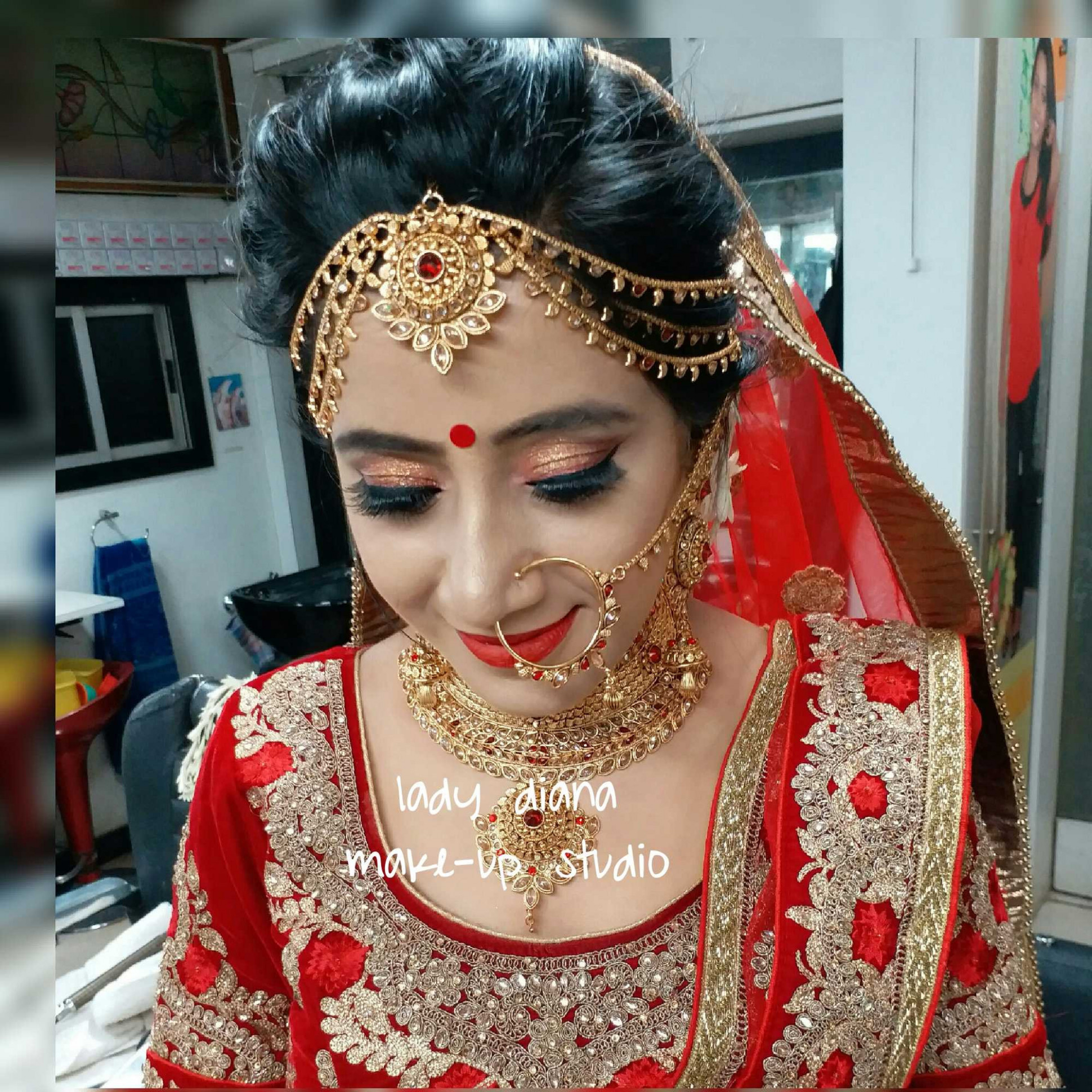 Indian Bride Makeup And Hairstyle Dress Up Games ...