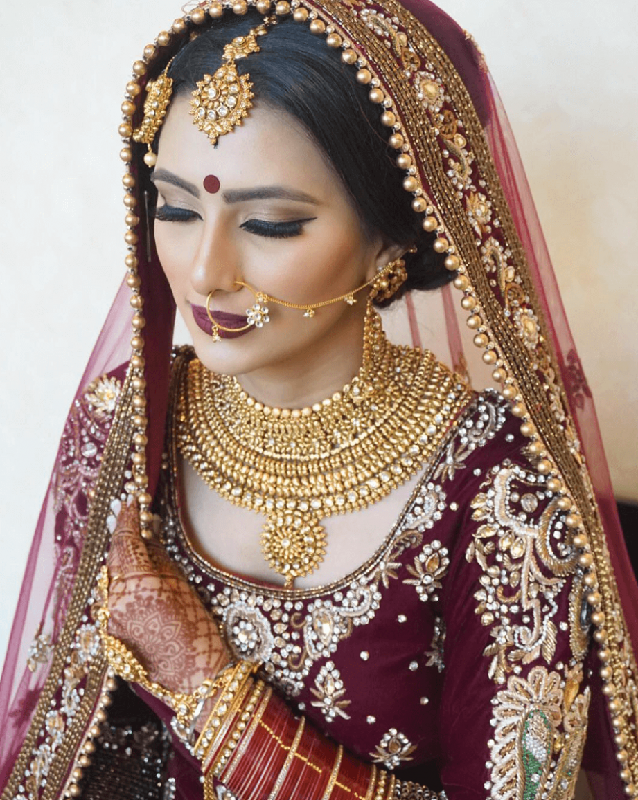 indian bride makeup - Style Guru: Fashion, Glitz, Glamour ...
