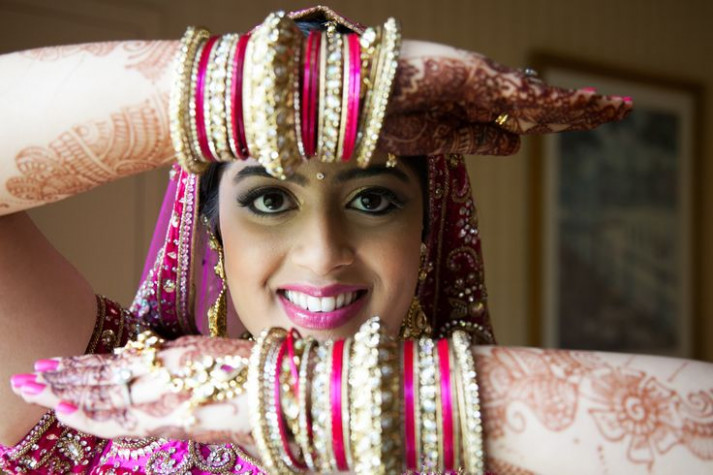Indian bride pose. www.remvp.com | Best of Indian Weddings ...