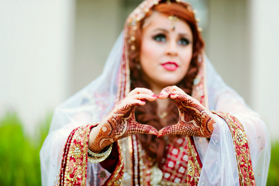 Indian Bride Poses – Ideas for wedding photography