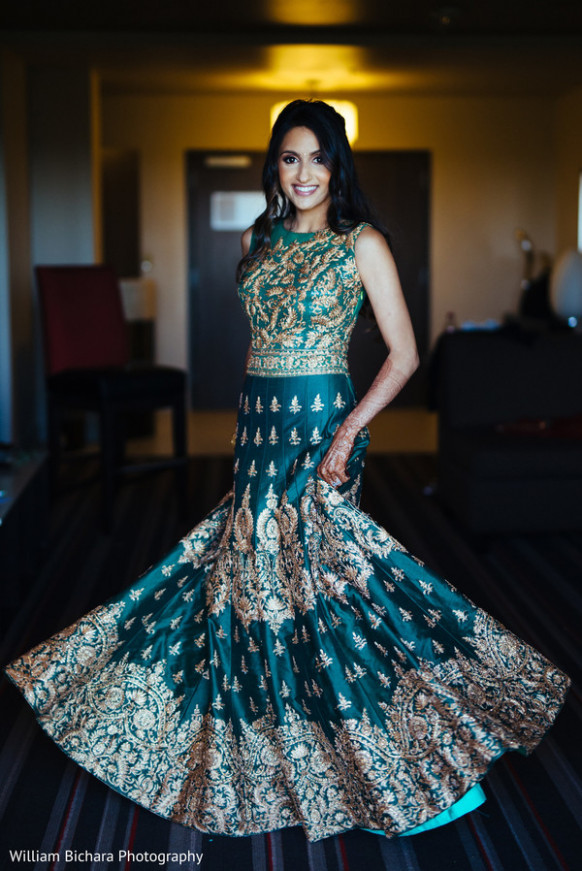 Indian bride reception look. | Photo 130051 | Maharani ...