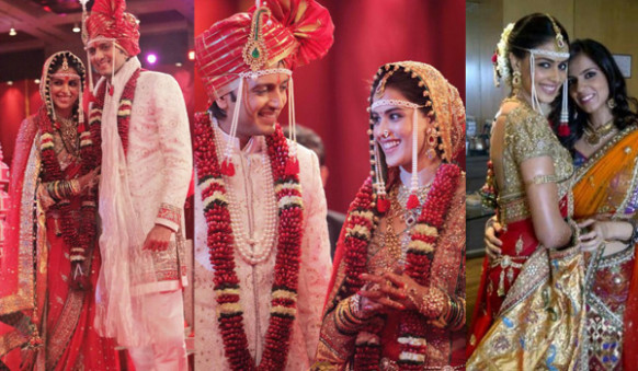 Indian Celebrities And Their Much-Talked About Wedding Attires