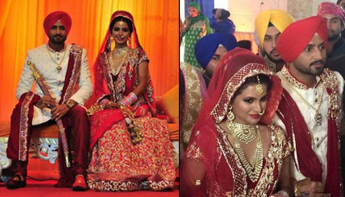 Indian Cricketer Harbhajan Singh Marries Bollywood Actress ..