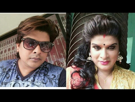 Indian crossdresser || boy to girl Transformation India ...