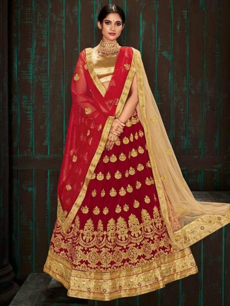 Indian Designer Bollywood Wedding Party Wear Lehenga Choli ...