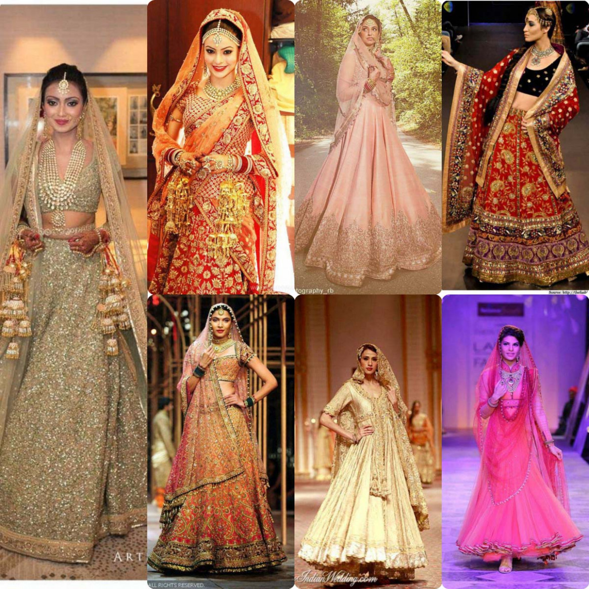 Indian Designers Bridal Dresses Collection | Stylo Planet