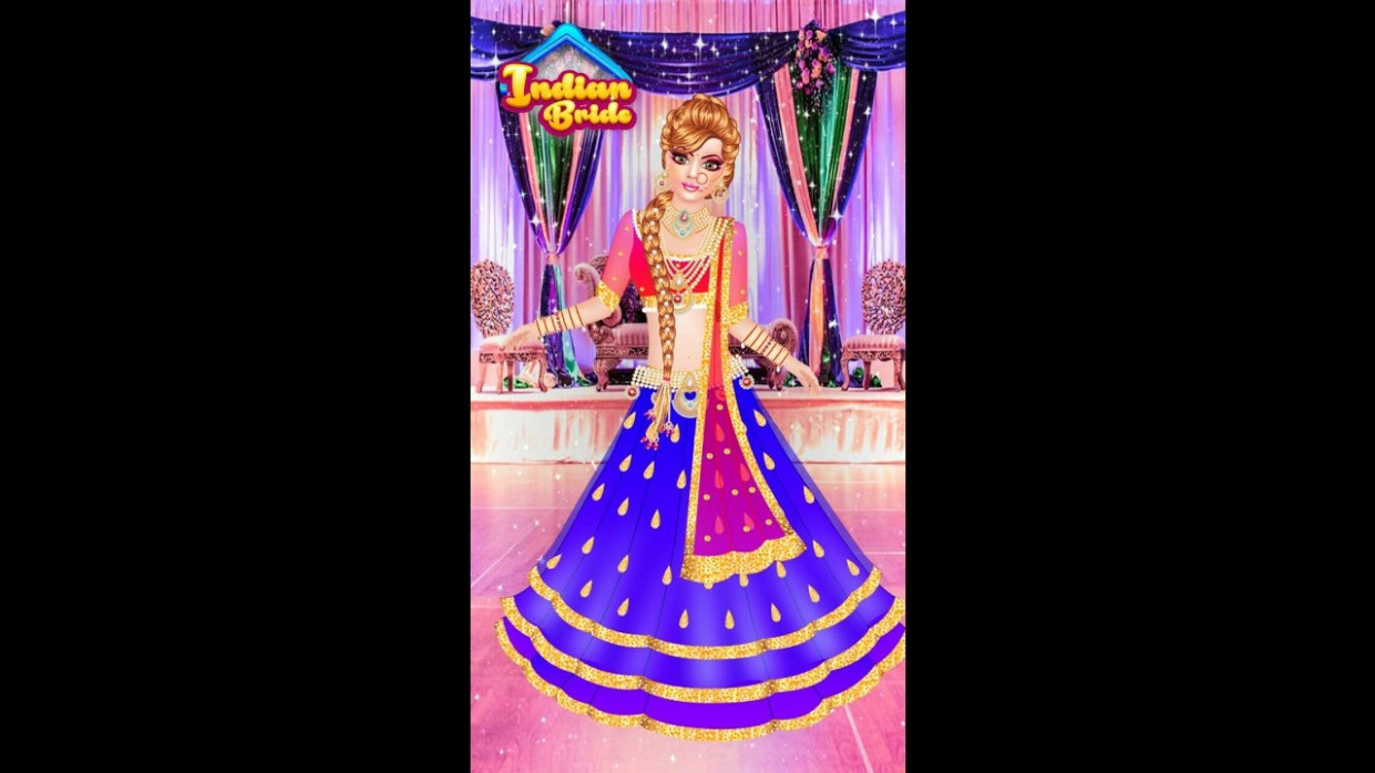 Indian doll - bridal collection Dress up a bride- girls ..
