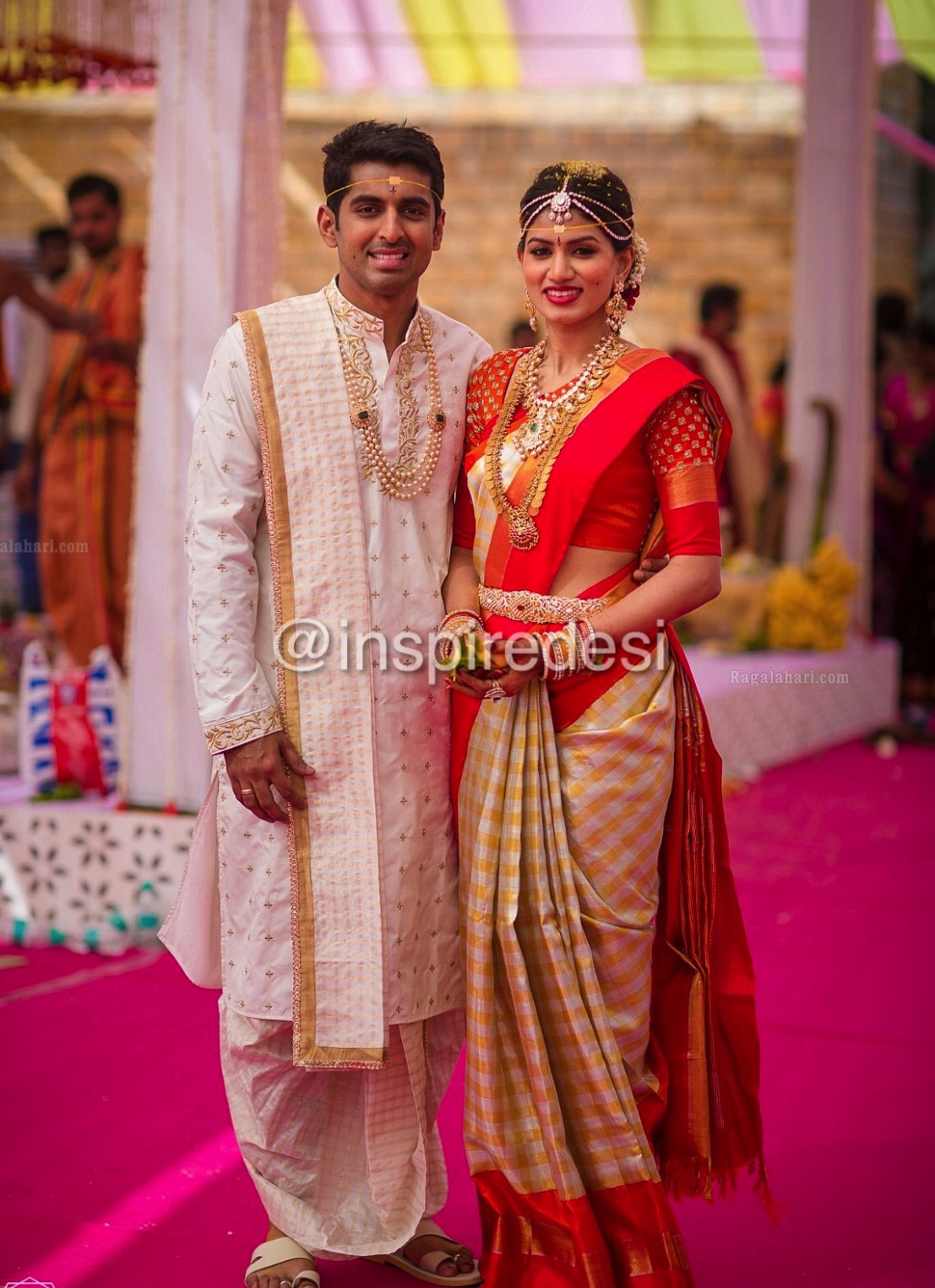 Indian Dresses: South Indian Bride and Groom