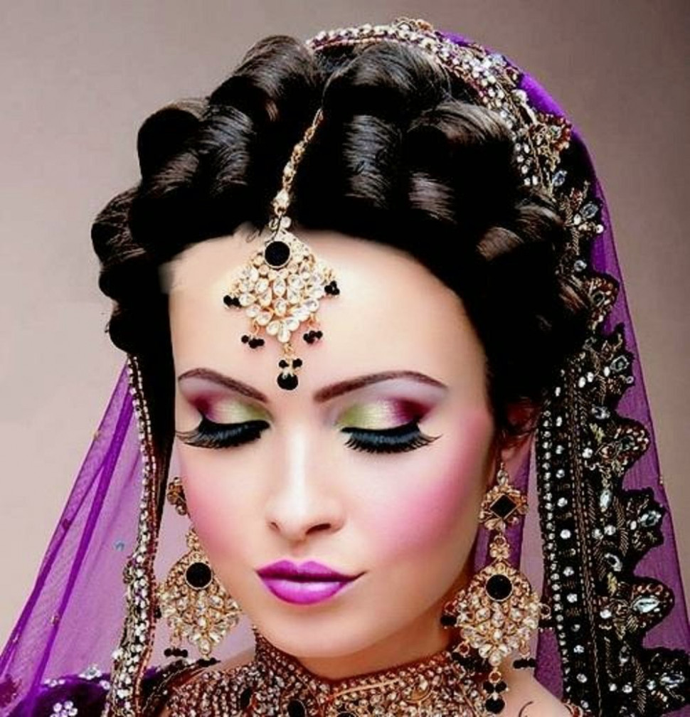 Indian Dulhan New Look Makeup Ideas 2014 For Girls Image ...