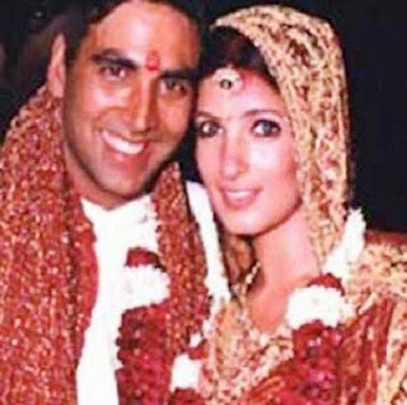 Indian film actress and actor Twinkle Khaana & akshay ...