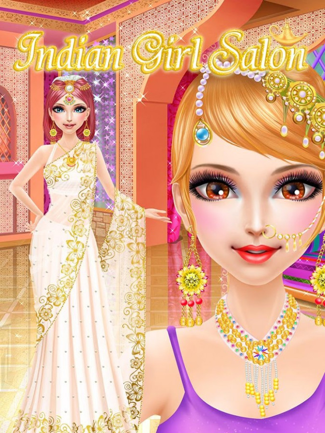 Indian Girl Salon: girls games - Android Apps on Google Play