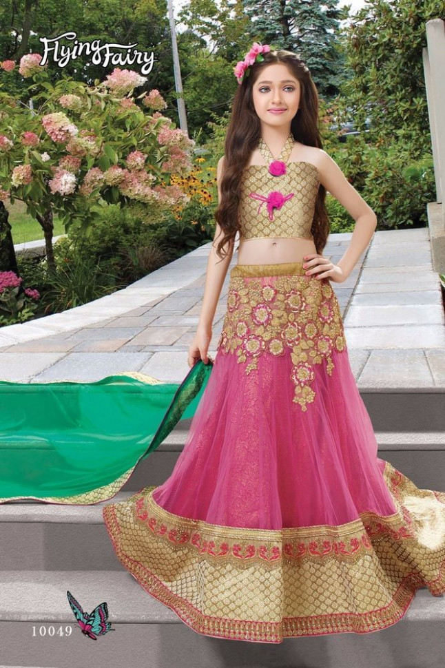 Indian kids girls lehenga Pakistani designer bollywood ...